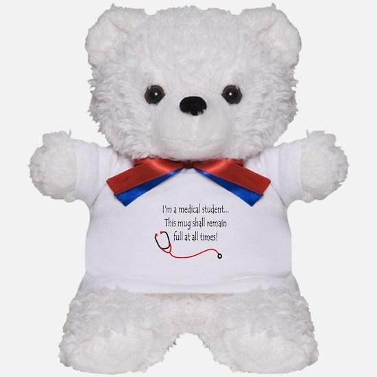 Medical Student Mug Teddy Bear