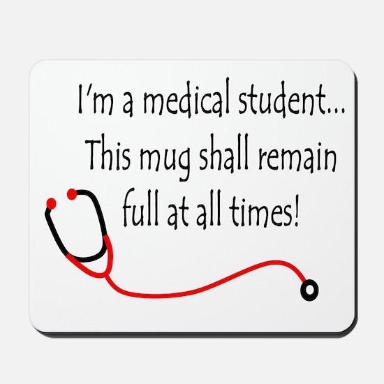 Medical Student Mug Mousepad