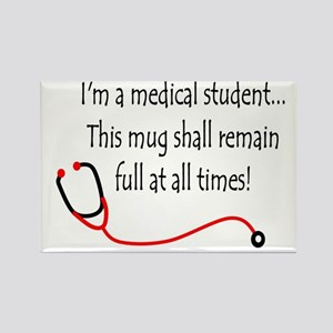 Medical Student Mug Rectangle Magnet