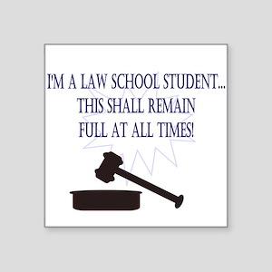 I'm a law school student. Sticker