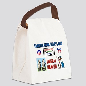 TAKOMA PARK Canvas Lunch Bag