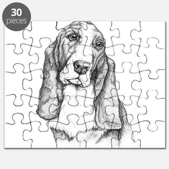 Basset Hound drawing Puzzle