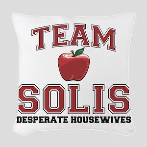 Team Solis Woven Throw Pillow