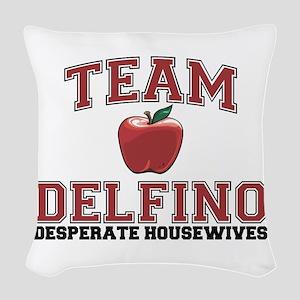 Team Delfino Woven Throw Pillow
