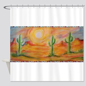 Desert, scenic southwest landscape! Shower Curtain