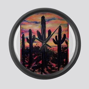 Desert, southwest art! Saguaro cactus! Large Wall