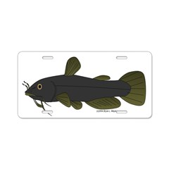 Bullhead Catfish Aluminum License Plate
