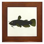 Bullhead Catfish Framed Tile