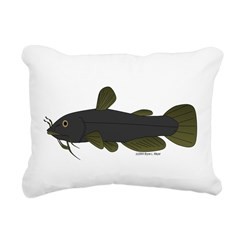 Bullhead Catfish Rectangular Canvas Pillow