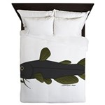 Bullhead Catfish Queen Duvet