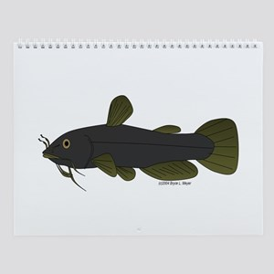 Bullhead Catfish Wall Calendar