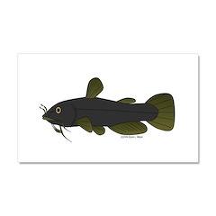 Bullhead Catfish Car Magnet 20 x 12