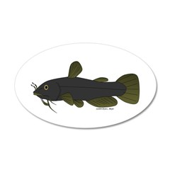Bullhead Catfish Wall Decal