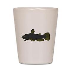 Bullhead Catfish Shot Glass