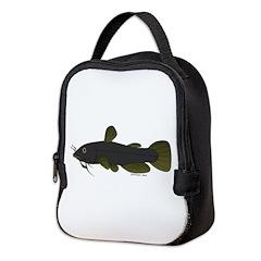 Bullhead Catfish Neoprene Lunch Bag