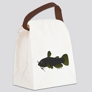 Bullhead Catfish Canvas Lunch Bag