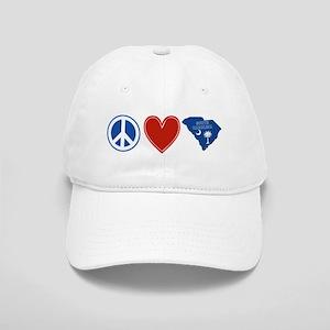 Peace Love South Carolina Cap