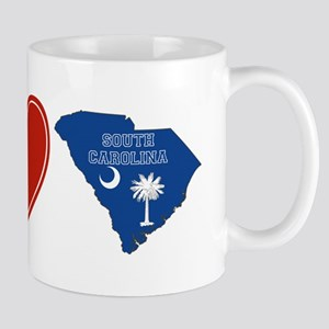 Peace Love South Carolina Mug