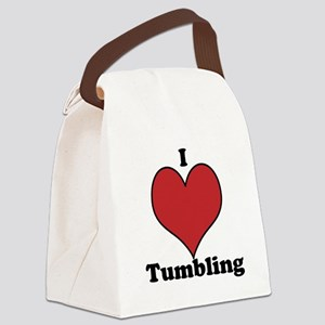I love tumbling Canvas Lunch Bag