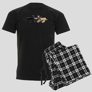 Briard Hat Off-Leash Art™ Pajamas
