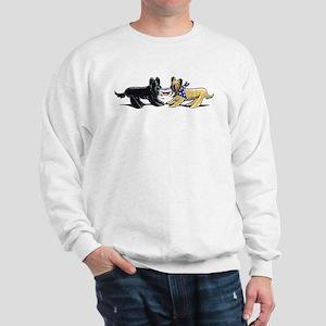 Briard Hat Off-Leash Art™ Sweatshirt