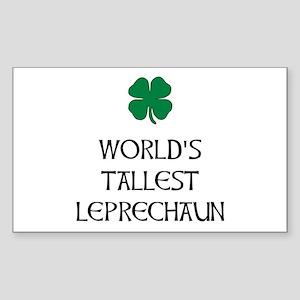 Tallest Leprechaun Sticker