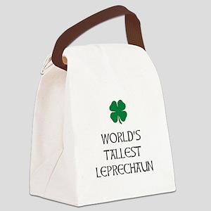 Tallest Leprechaun Canvas Lunch Bag