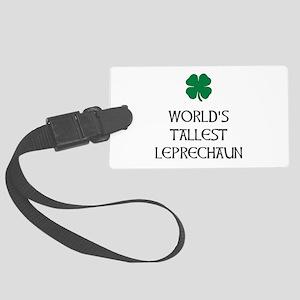 Tallest Leprechaun Luggage Tag
