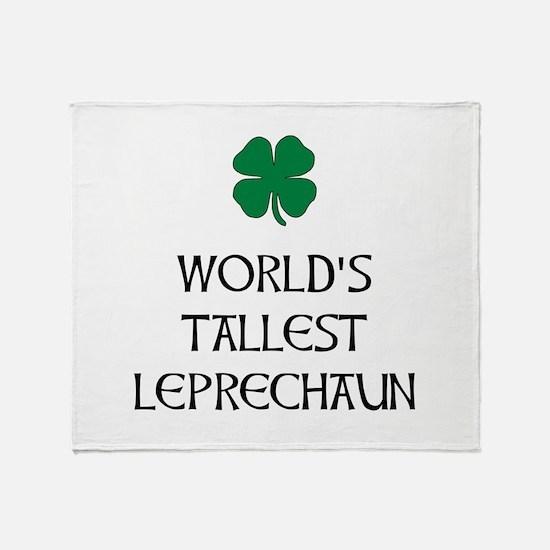 Tallest Leprechaun Throw Blanket