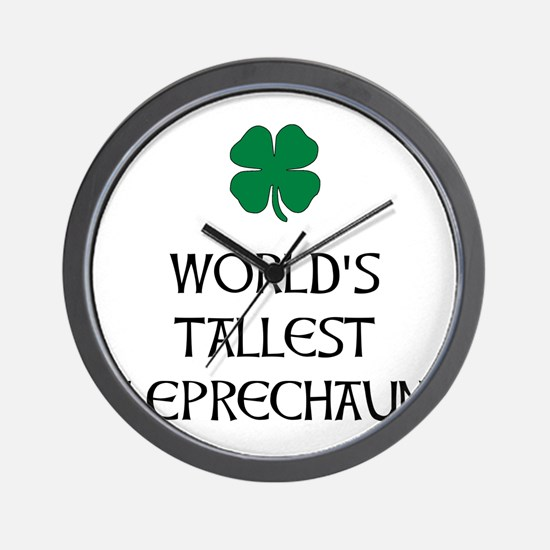 Tallest Leprechaun Wall Clock