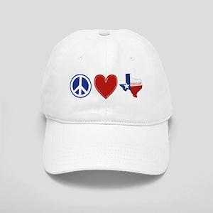 Peace Love Texas Cap