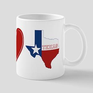Peace Love Texas Mug