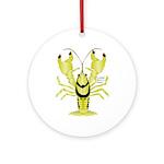 Crayfish Freshwater Ringed PBFW Ornament (Round)