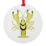 Crayfish Freshwater Ringed PBFW Ornament