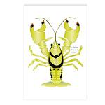 Crayfish Freshwater Ringed PBFW Postcards (Package