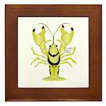 Crayfish Freshwater Ringed PBFW Framed Tile