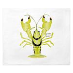 Crayfish Freshwater Ringed PBFW King Duvet