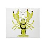 Crayfish Freshwater Ringed PBFW Throw Blanket