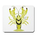 Crayfish Freshwater Ringed PBFW Mousepad