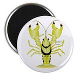 Crayfish Freshwater Ringed PBFW Magnet