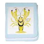 Crayfish Freshwater Ringed PBFW baby blanket