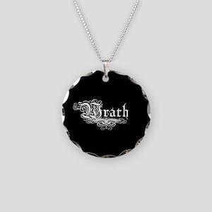 7 SIns Wrath Necklace Circle Charm
