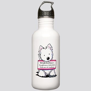 Vital Signs: NAUGHTY Stainless Water Bottle 1.0L