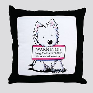 Vital Signs: NAUGHTY Throw Pillow