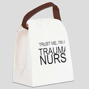 Trust Me, Im A Trauma Nurse Canvas Lunch Bag