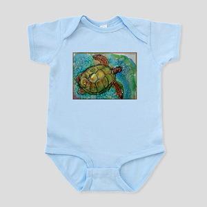 Sea turtle! Wildlife art! Body Suit