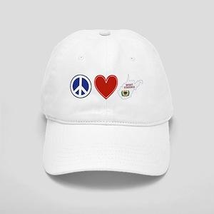 Peace Love West Virginia Cap