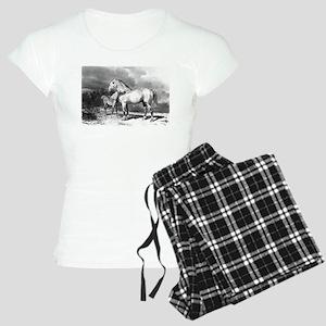 Mama And Baby Horse Pajamas