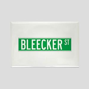 Bleecker St., New York - USA Rectangle Magnet