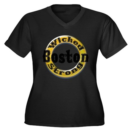 Wicked Strong Bruins Plus Size T-Shirt